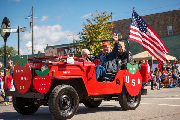 The Nappanee Apple Festival is an annual beloved community event.