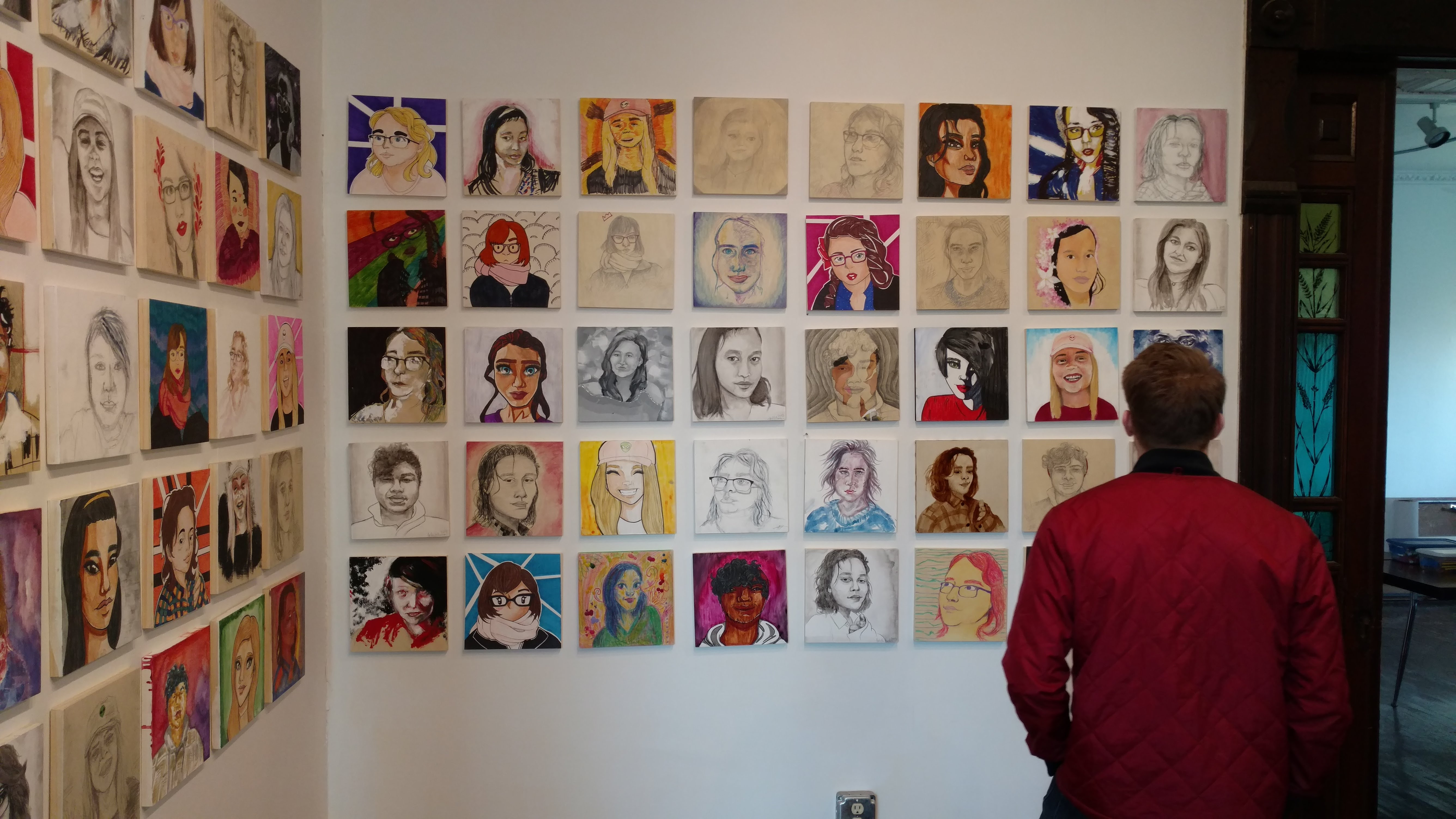 Young artists unleash their talent in stunning exhibition