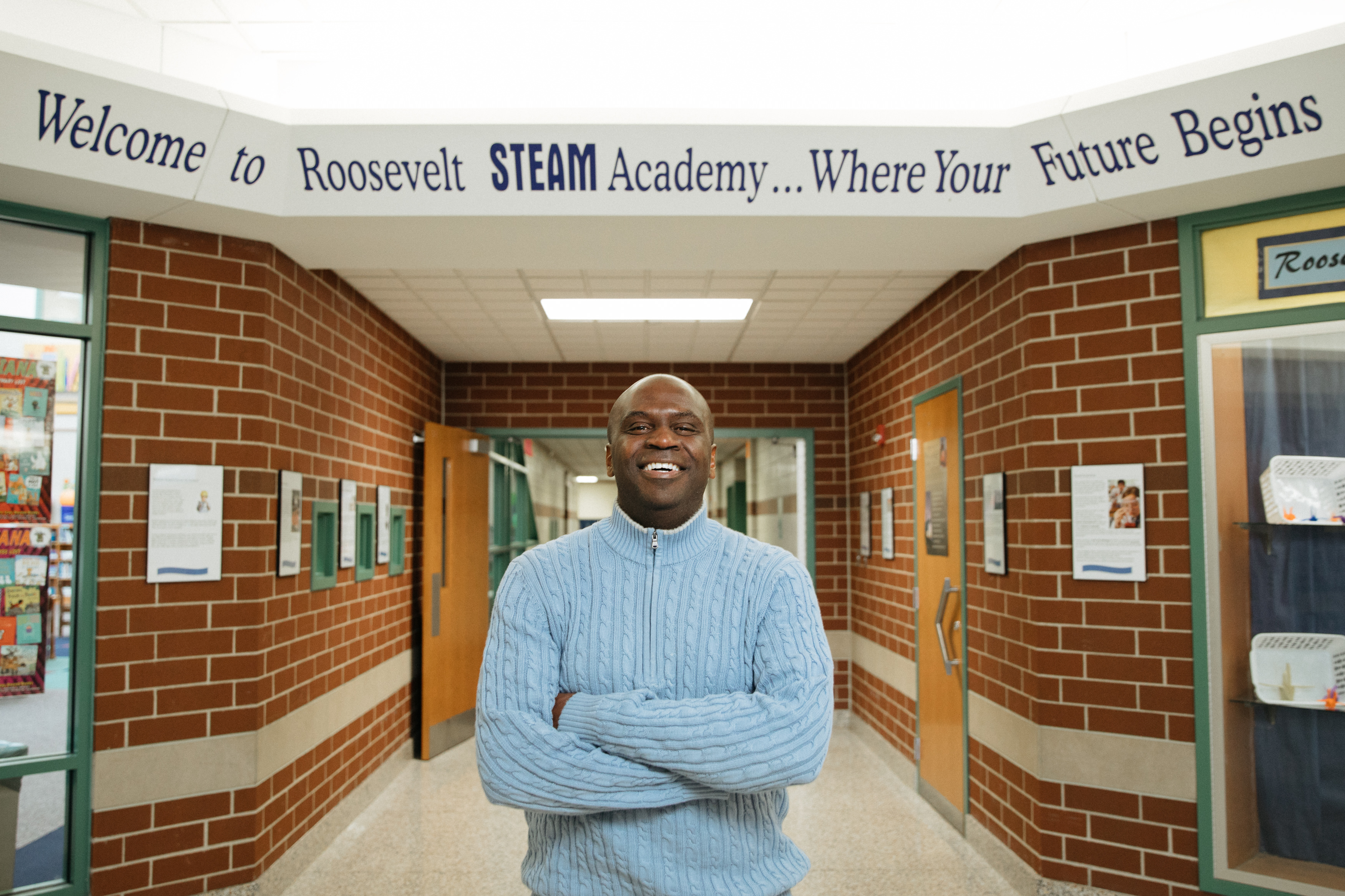 Love Where You Live: Rodney Dale pays forward life lessons to Elkhart kids