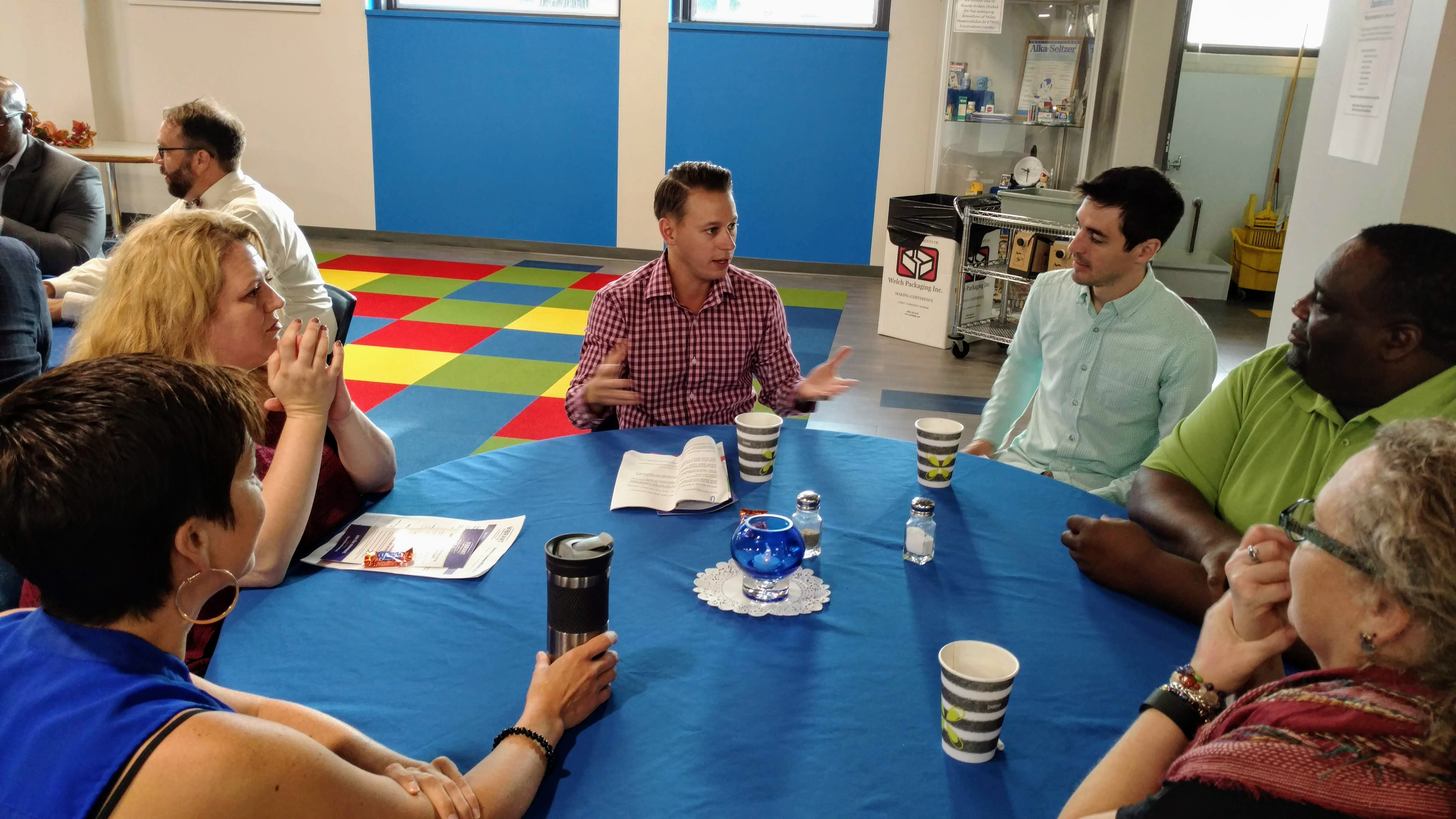 Young professionals praise Elkhart County's direction, urge more kids programs