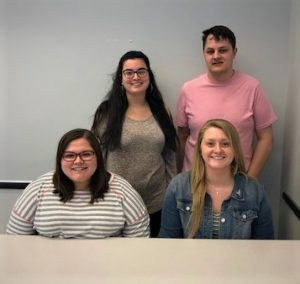 Katie Peel, Hollie Weidner, Siara Rogers and Conner Elonich • IUSB Students • Vibrant People of Elkhart County