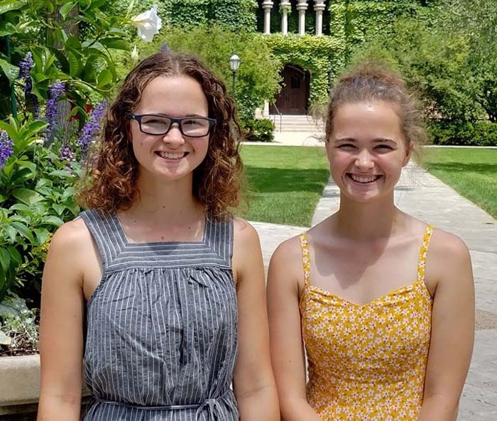 Kaylee and Makenna Gall • Vibrant People of Elkhart County