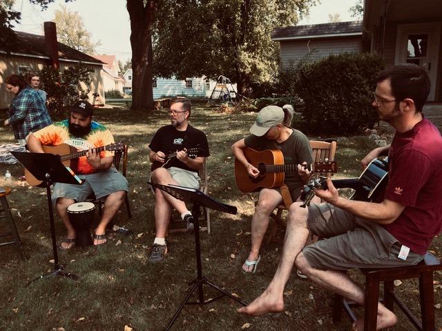 Goshen neighborhood embraces residents musical talents